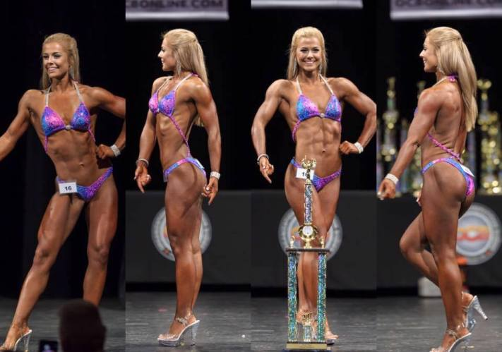 Hannah 1st Place Novice, Open + Overall Figure
