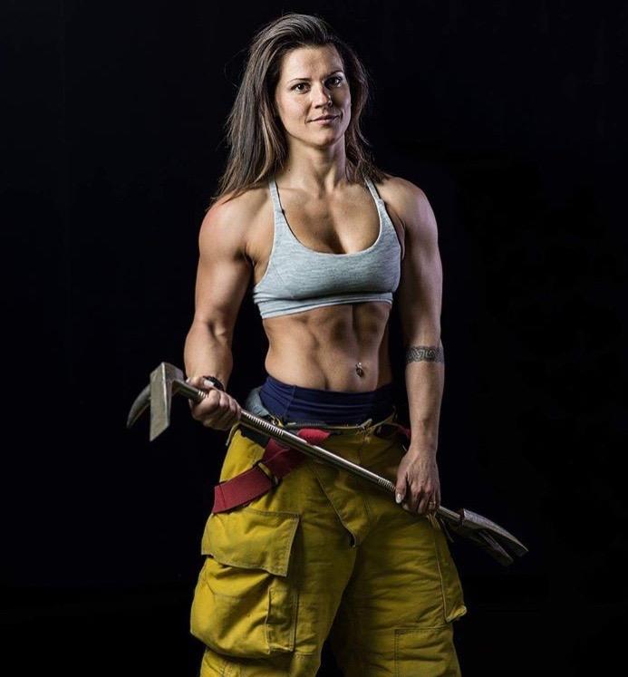 Sarah is an EMT/Firefighter